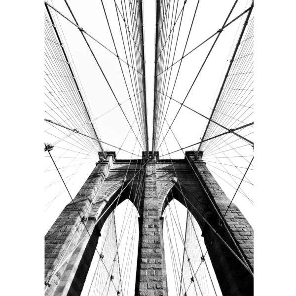 Brooklyn Bridge Classic View photograph