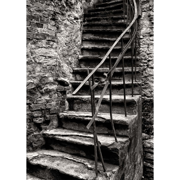 Stairs in Tallinn Old Town photograph